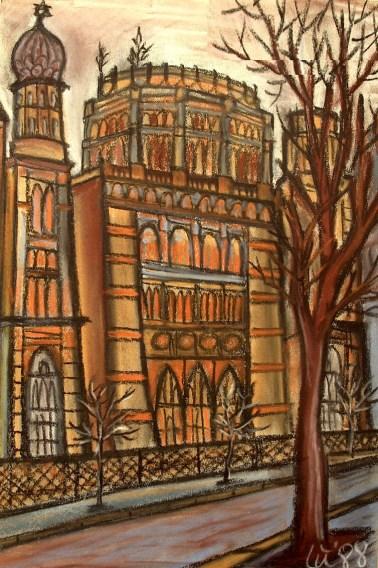 BLN22_Ruine der Synagoge Oranienburger Str