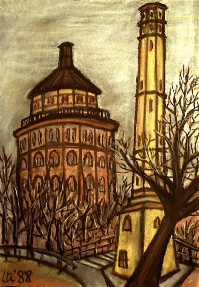 BLN7_Der dicke und der duenne Wasserturm