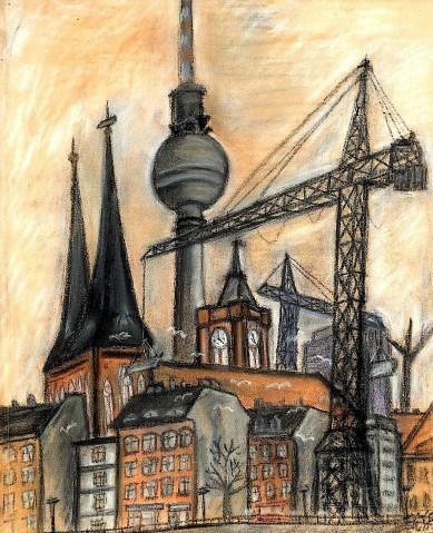 BLN9_Turmparade im Nikolaiviertel
