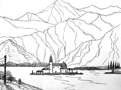 Balkan32-Montenegro-Bucht von Kotor I