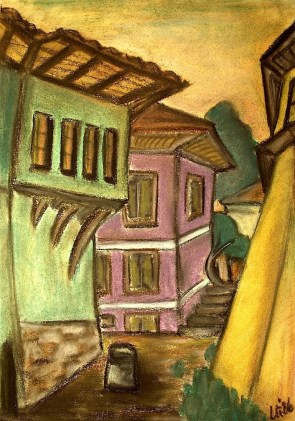 Bulgar30_Plovdiv-Gruenes Haus