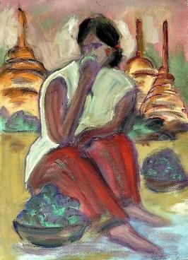 Burma7-Pagan-Obstverkaeuferin