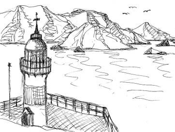 CHL10 Niebla Leuchtturm
