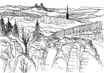 CZ9 Landschaft im Cesky Raj3