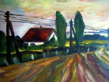 Daenemark22-Ackerfelder bei Kirke Saby