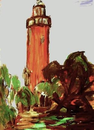 Darss6-Leuchtturm Darsser Ort