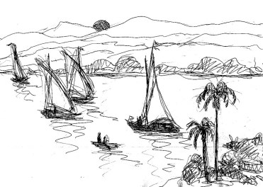Egypt10 Assuan Nil1