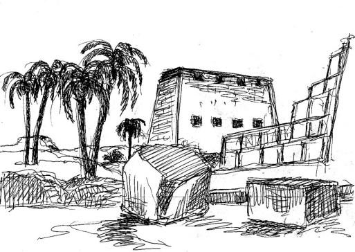 Egypt13 Karnak Pylone
