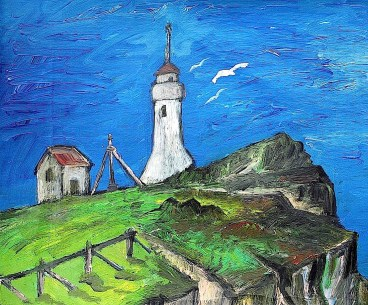 FAROE17-Leuchtturm Akrarberg-Suthuroy