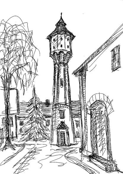 FlaemSk17 Treuenbrietzen Wasserturm