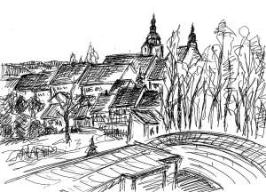 FlaemSk7 Belzig Blick auf die Stadt