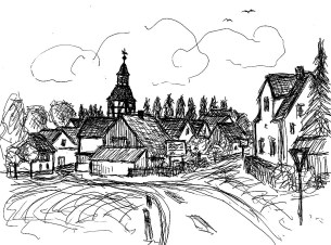 FlaemSk7 Goelsdorf Blick aufs Dorf