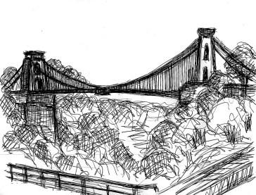 GB2 Bristol Clifton Suspension Bridge