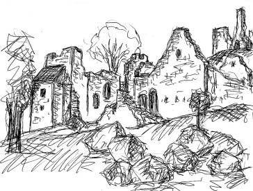GB3 Devon Okehampton Castle