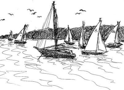 HavelSk12 Beetzsee Segelboote