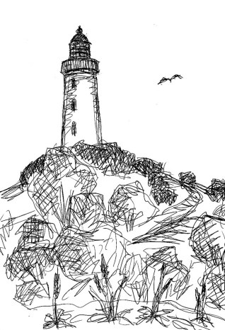 Hiddensee3-Leuchtturm Dornbusch