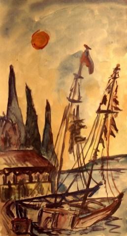 Istrien7_Segelboote im Hafen