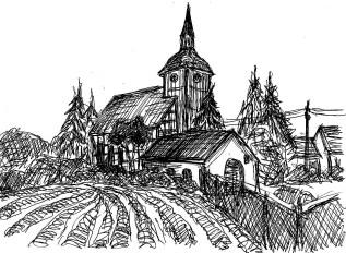 LausitzSk1 Schlepzig Dorfkirche