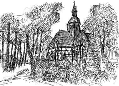 LausitzSk13 Krausnick Kreuzkirche