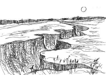 LausitzSk4 Tagebaulandschaft bei Lakoma