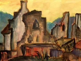 Luxemburg1-La Rochelle-Burgruine