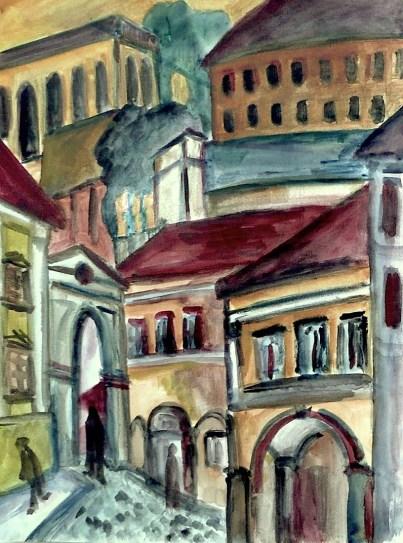 Maehren25-Mikulov-Marktplatz