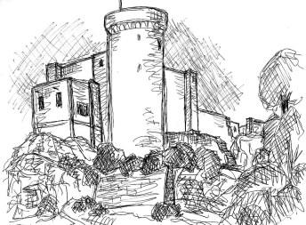 Normandie8-Burg Falaise1