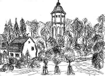 OHVSk2 Hohen-Neuendorf Wasserturm