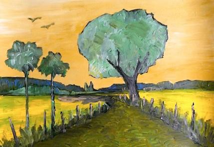 Oder43_Baum auf der Ihlower Hoehe