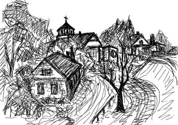 OderSk3 Kienitz Blick zur Dorfkirche