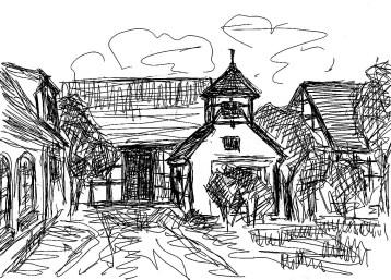 OderSk6 Neulietze-Goericke Taubenhaus mit Vierseithof