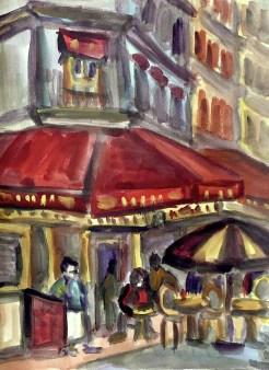 Paris12-Cafe in St Germain