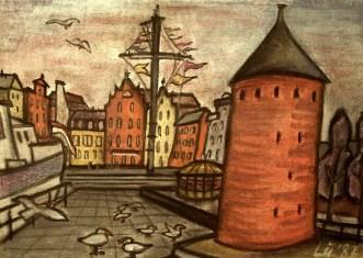 Polen16_Danzig-Am Alten Hafen