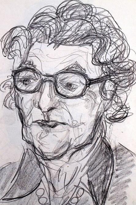 Portrait Frau Weyer