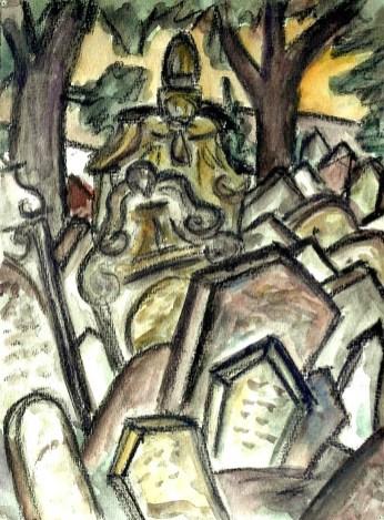 Prag3-Juedischer Friedhof