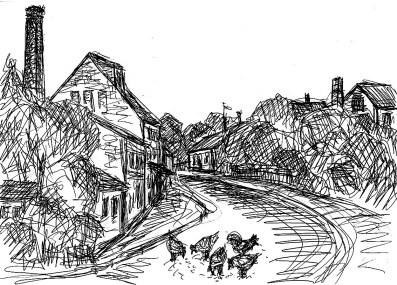 PrignitzSk3 Kletzke Dorfstrasse