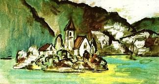 Slowenien17_Inselkirchlein im Bleder See2