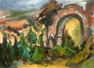 Toscana11-Etruskische Ruinen