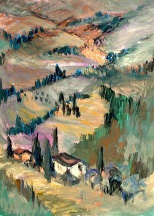 Toscana15-Landschaft bei Volterra2