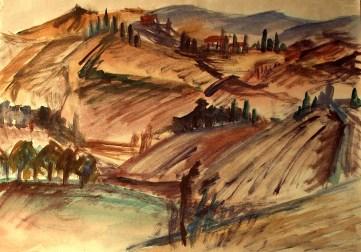 Toscana1_Crete bei Siena1