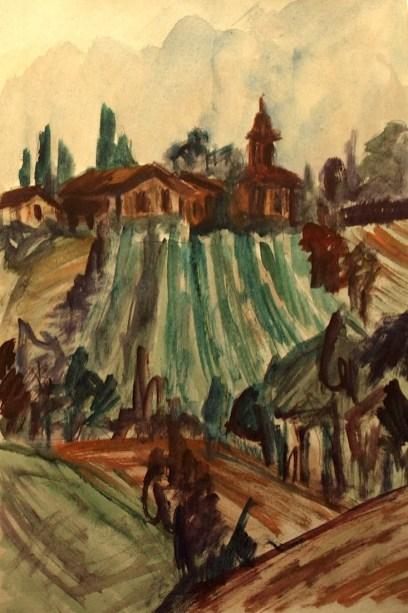 Toscana22_Weinberg bei Siena