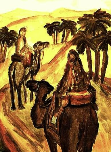 Tunesien5-In der Sahara-Aqu