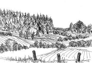 UckerSk4 Landschaft hinter Willmine