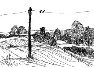 UckerSk6 Landschaft hinter Arnimswalde I
