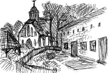 Ummanz4-Kirchhof in Waase