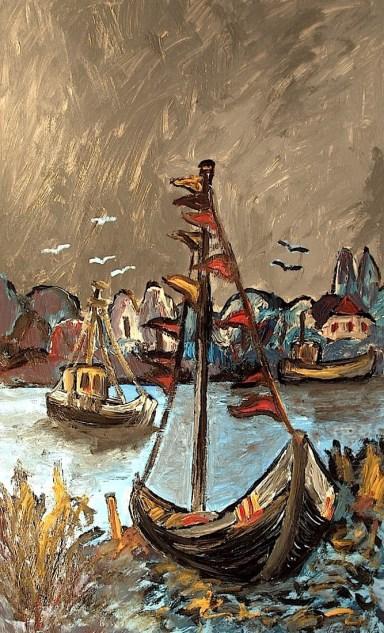 Ummanz6_Fischerboote im Bodden