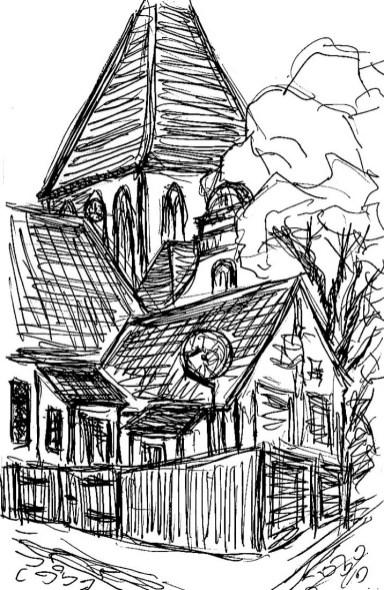Wittow9-Kirche Sagard