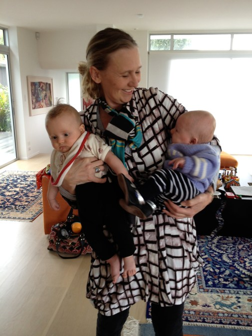 Tom, Linda and Finn