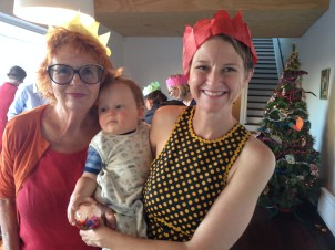 New Year with Grandma
