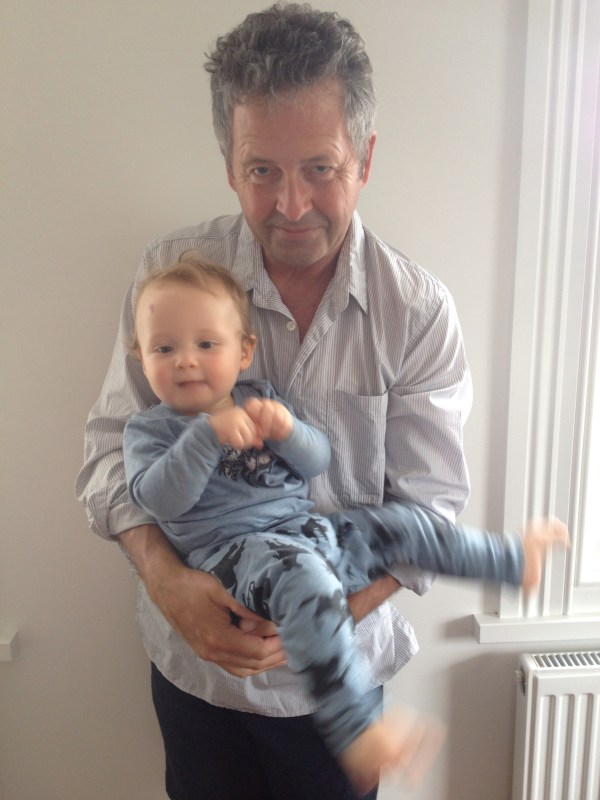 Off out with Dad